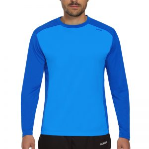 Maillot technique runnek ethilo bleu royal homme
