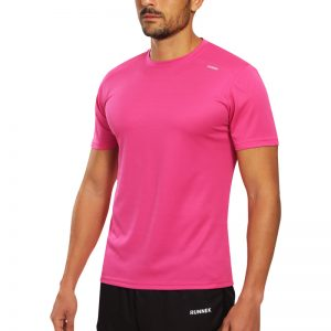 Maillot technique runnek code fuchsia homme