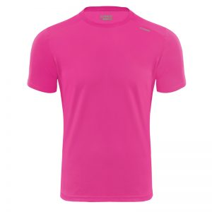 Maillot technique runnek code fuchsia homme face