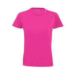 Maillot technique runnek code fuchsia femme face