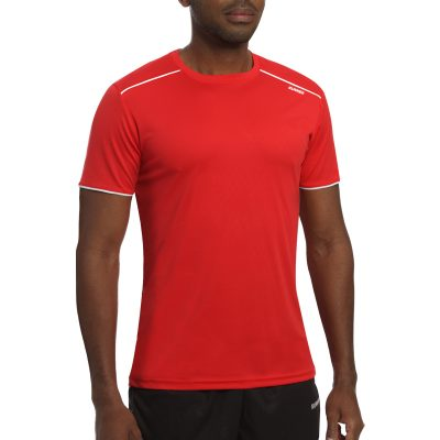Maillot technique runnek ultra rouge blanc