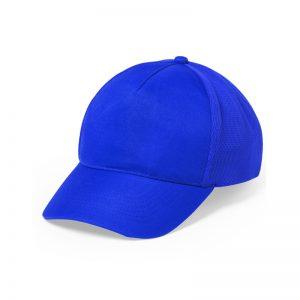 casquette sport bleu royal