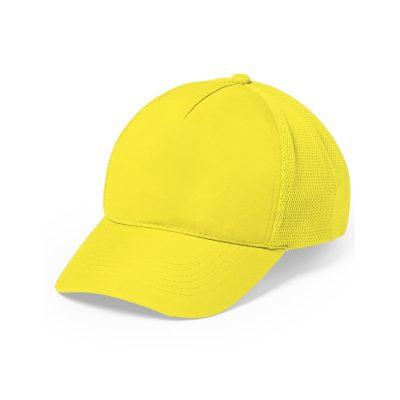 casquette sport jaune