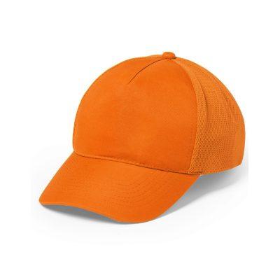 casquette sport orange