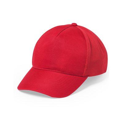 casquette sport rouge