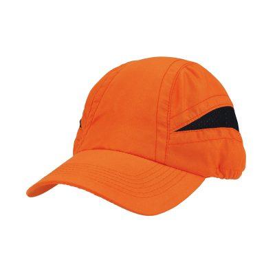 casquette technique orange