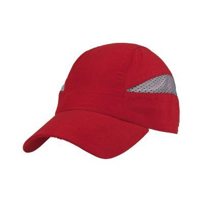 casquette technique rouge