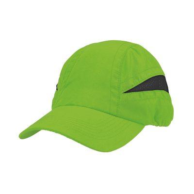 casquette technique vert