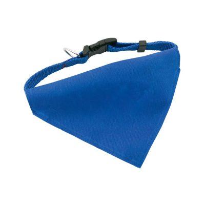 collier bandana bleu