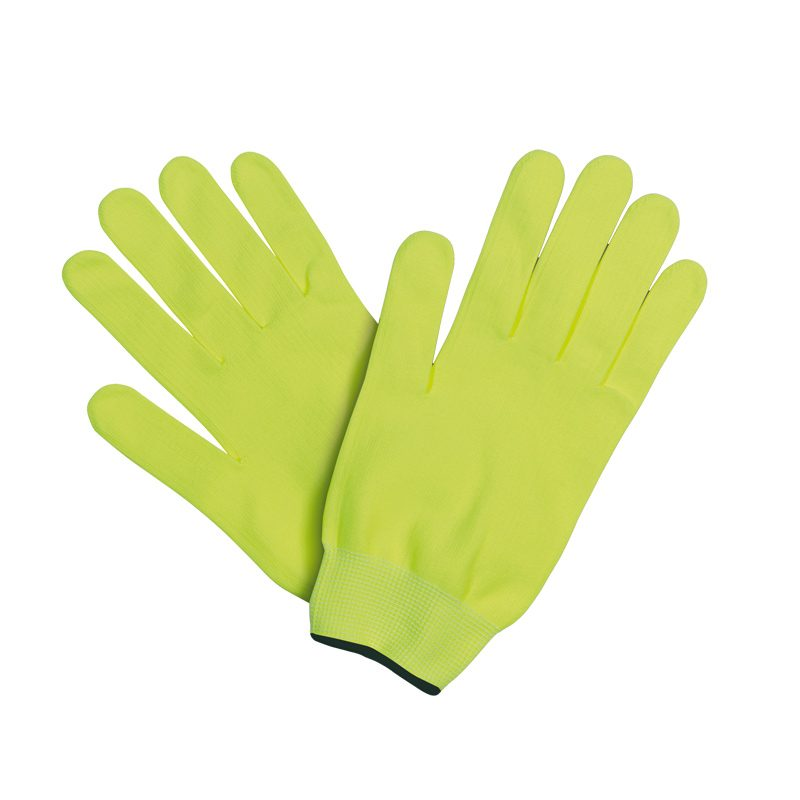gants running vert