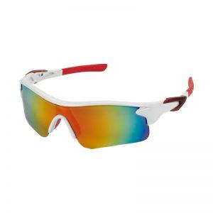 lunettes soleil blanc rouge