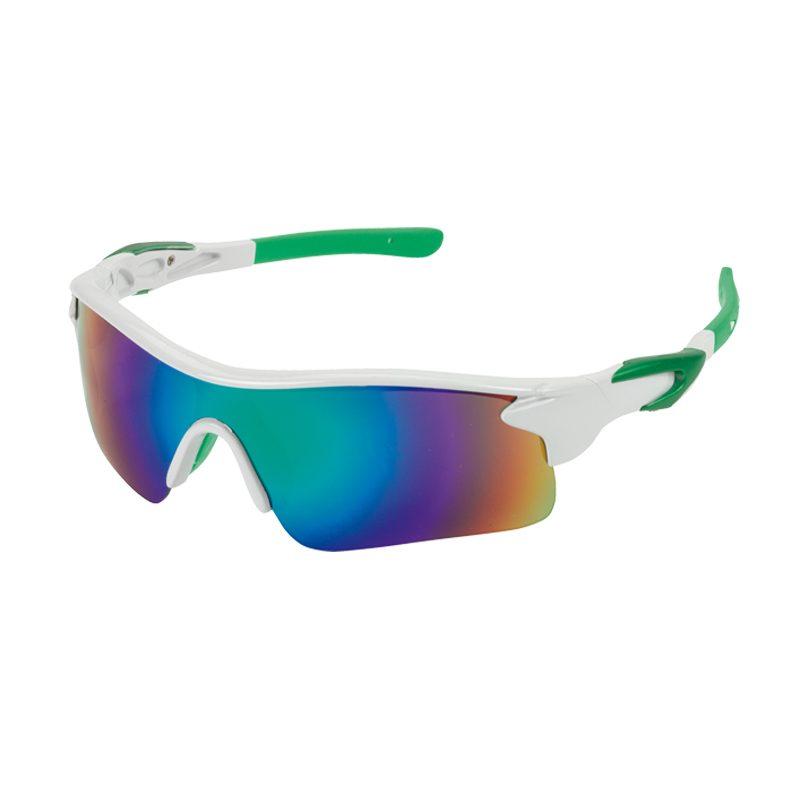 lunettes soleil blanc vert