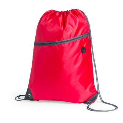 sac a dos running avec poche rouge