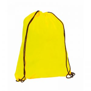 sac a dos running jaune fluo