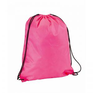 sac a dos running rose fluo