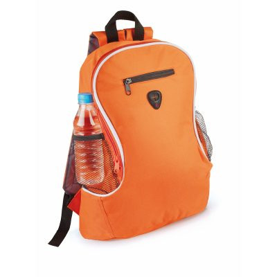 sac a dos sport orange
