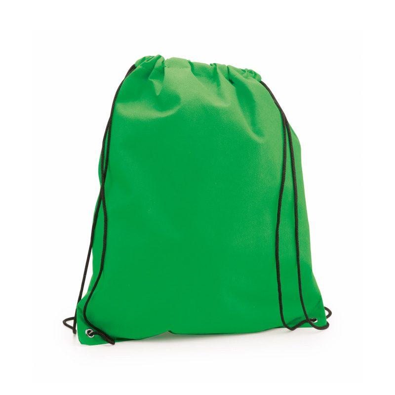 sac a dos tissu non tissu vert