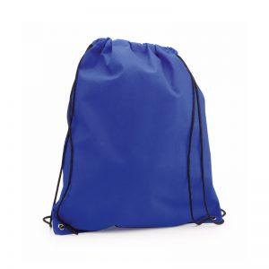 sac a dos tissu non tissu bleu