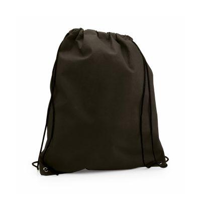 sac a dos tissu non tissu noir