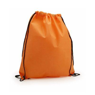 sac a dos tissu non tissu orange
