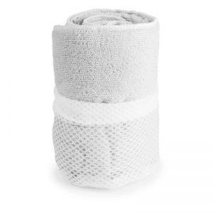 serviette microfibre blanc