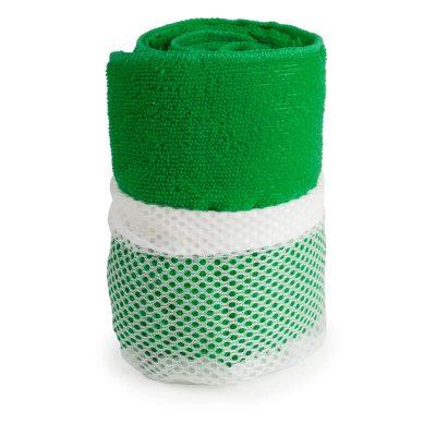 serviette microfibre vert