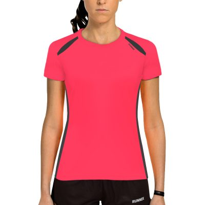 Maillot technique runnek wave acid pink femme