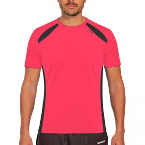 Maillot technique runnek wave acid pink