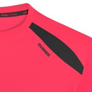Maillot technique runnek wave acid pink
