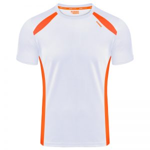 Maillot technique runnek wave blanc