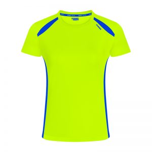 Maillot technique runnek wave jaune femme