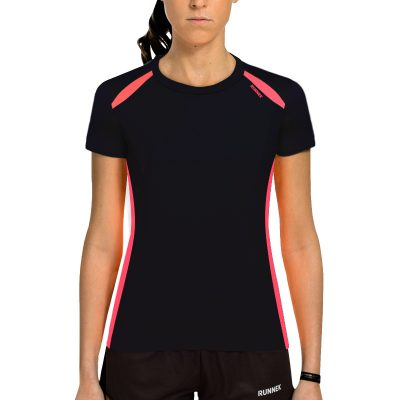 Maillot technique runnek wave noir femme