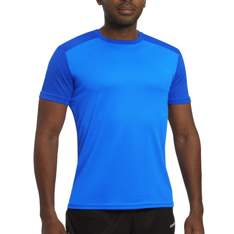Maillot technique runnek edel bleu royal homme