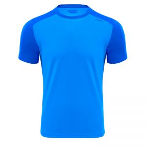 Maillot technique runnek edel bleu royal homme face