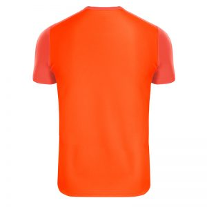 Maillot technique runnek edel orange fluo homme dos