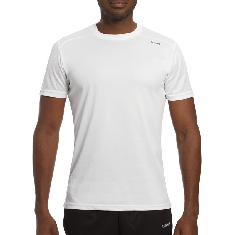 Maillot technique runnek milos blanc homme