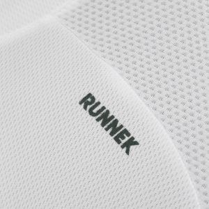Maillot technique runnek milos blanc homme detail