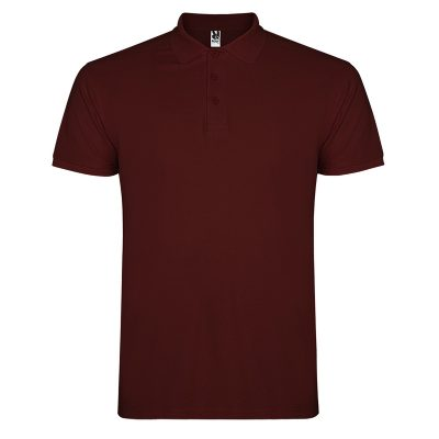 Polo coton homme marron