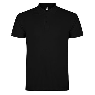 Polo coton homme noir