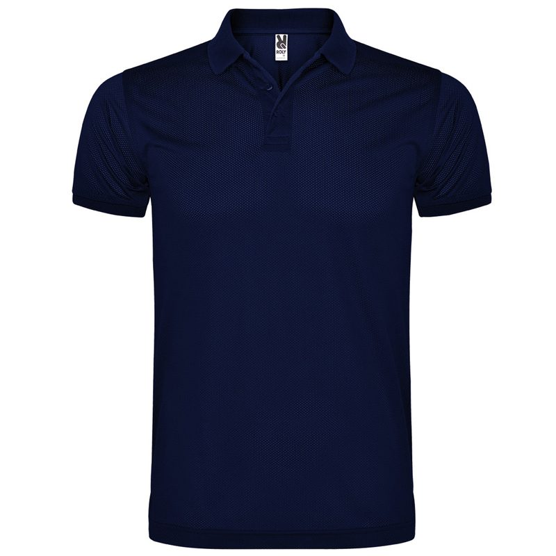Polo technique homme bleu navy