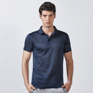Polo technique homme bleu navy photo