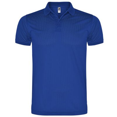 Polo technique homme bleu royal