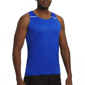 debardeur technique runnek ultravest bleu royal blanc homme