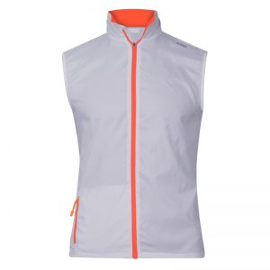 gilet technique runnek evo gris orange fluo