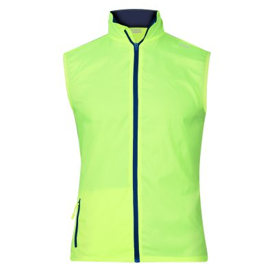 gilet technique runnek evo jaune fluobleu navy