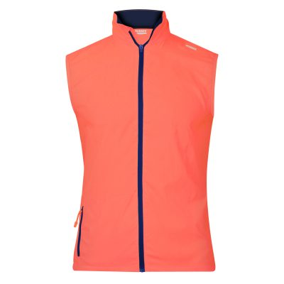 gilet technique runnek evo orange fluo bleu navy