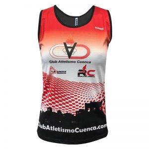 maillot athletisme sans manches runnek femme 1 face