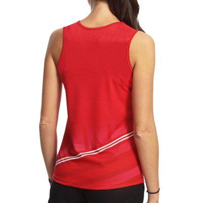maillot athletisme sans manches runnek femme
