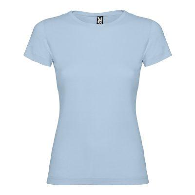 maillot coton femme bleu ciel