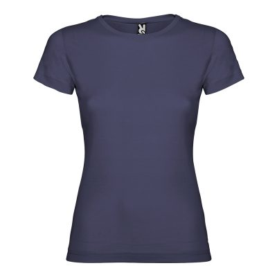 maillot coton femme bleu denim